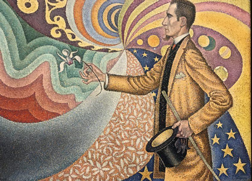 Félix Fénéon peint par Paul Signac